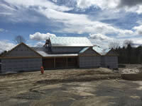 New Home in Litchfield, Maine built by BH Builders, Inc.