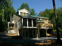 New home by B.H. Builders, Inc.