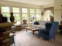 Living area by B.H. Builders, Inc.